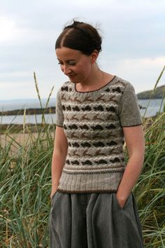 The Tortoise and the Hare sweater pattern by Kate Davies