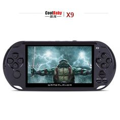 5.0 inch Screen Handheld Game Consoles Built-in 300 Classic NES Games With MP3/ Movie Camera Adult Vedio Games Console freeship