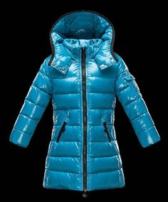 c268d5f56437 Kids Moncler Light Blue Long Jacket  moncler  monclerkids  blue   monclersuit  longcoat
