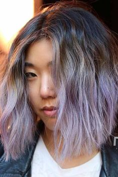 Image result for lavender highlights Acconciature Moderne Per Caschetti 90291e7f89f6