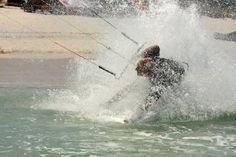 Nie taki kitesurfing straszny