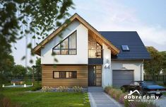 Ideas exterior design terrace architecture for 2019 Modern Bungalow House, Bungalow Homes, Bungalow House Plans, Modern Bungalow Exterior, House Cladding, Facade House, Best Home Plans, Cottage Porch, House Extension Design
