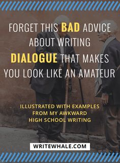 Examples of the most common dialogue mistakes make by new writers. Click through for foolproof solutions for fixing these common mistakes. Writing tips | writing advice | how to write a novel | how to write dialogue | writing dialogue help via @lizrufiange
