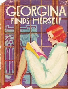 Georgina Finds Herself. Shirley Watkins, published by Goldsmith Publishing, George Jacobs & Co., copyright 1922. First edition. Original art deco illustrated dust jacket. The Plot: A young girl, who...