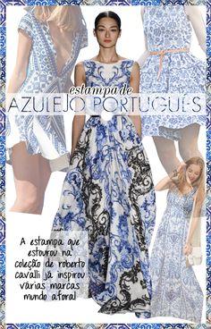 Azulejo Portuguese tile fashion trend