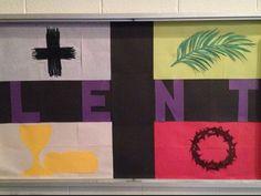 Possible Lenten bulletin board