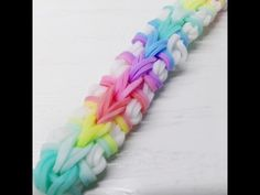 NEW Double Origami Rainbow Loom Bracelet Tutorial (Original Design) - YouTube