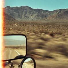 desert life mollysteele: out the window in the Mojave Desert in California by Molly Steele Desert Aesthetic, Retro Aesthetic, Film Aesthetic, Desert Dream, Desert Life, Route 66, Feed Insta, Mojave Desert, Mojave Ghost