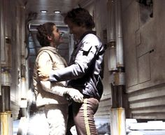 Leia and Han Solo  - Another what-if cut scene.