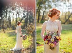 Cuneo Mansion Autumn Wedding- YES!