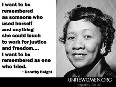 dorothy height early life