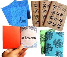 Pocket Sized Notebooks by A Million City Lights @ Uncovet
