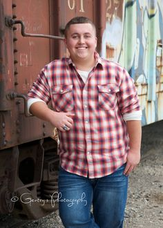 Kolby, Senior 2015, boy, guy, football, class ring, railroad tracks, railroad cars, Letter jacket, letterman, Pictures, Pics, Portraits, Photography, Photos, teenage, outdoor, natural light, Palestine, TX, East Texas, Athens, TX © Gentry's Photography