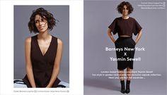 BARNEYS NEW YORK X YASMIN SEWELL Fall 2014