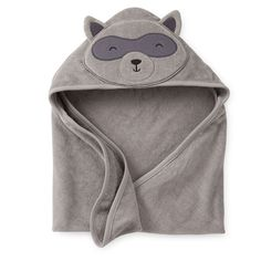 You'll need a hooded told her bath time, even before the stump falls off and it's just sponge baths. This raccoon hooded towel is super cute and cheap