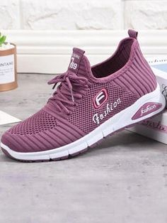 women shoes ONLY FOR YOU 331267 - NEWCHIC Mobile Casual Sneakers, Casual Shoes, Sierra Leone, Seychelles, Purple Toes, Clothes For Sale, Clothes For Women, Summer Outfits, Cute Outfits