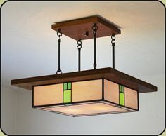 arts and crafts lighting fixture
