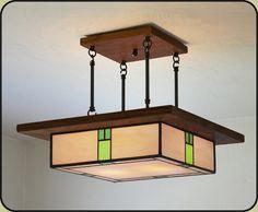 arts and crafts lighting fixture