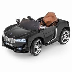 BMW i8 Style Ride-On Car by SPORTrax - Front Side View