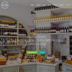 Susina Bistrò, nel cuore di Roma dalla colazione alla cena! Restyling web. www.susinabistro.it