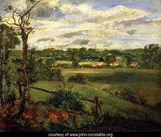 View of Highgate from Hampstead Heath, c.1834