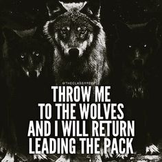 #Wolfmode #ConquerThyself #LeadByBeingLed