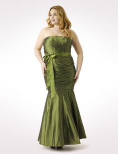 """I love the fact that this isn't your """"typical"""" ball gown color!"""