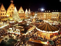 Christmas Market in Brussels -I've always wanted to go here for Christmas!
