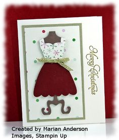 all dressed up framelits from stampin up