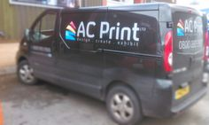 Our delivery van, on it's way to you with your orders!  0800 093 2960  sales@acprintltd.co.uk www.acprintltd.co.uk
