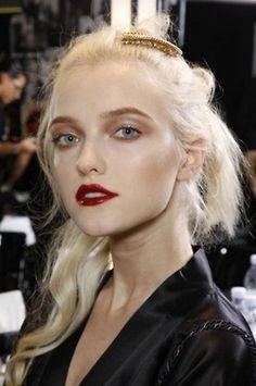 Vlada Roslyakova at Dolce & Gabbana SS10.