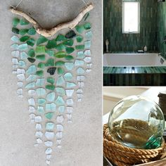 Best Decorating With Sea Glass Gallery Decorating Interior