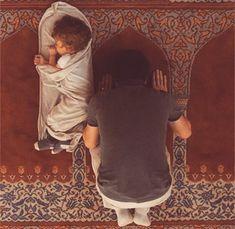 allah, masjid, and baby image