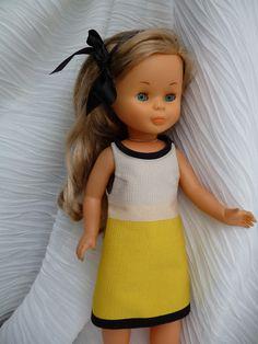 ANILEGRA COSE PARA NANCY: UNA CAPRICHOSA , agotado en este color Vestidos Nancy, Nancy Doll, Spanish Girls, Sewing Dolls, Girl Dolls, Doll Clothes, To My Daughter, Barbie, Disney Princess