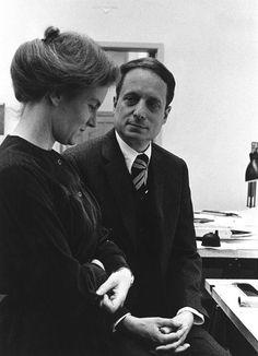 Denise Scott Brown y Robert Venturi.  Imagen de George Pohl.