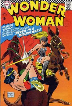 Wonder Woman This 1966 issue of DC Comics, Wonder Woman is in Very Fine Condition! A very Nice Comic Book! Dc Comic Books, Vintage Comic Books, Vintage Comics, Comic Book Covers, Comic Book Heroes, Dc Comics, Star Comics, Wonder Woman Comic, Wonder Women