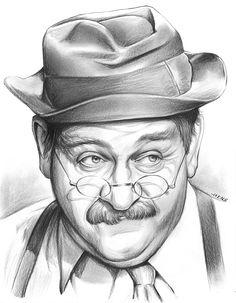 Charlie Weaver aka Cliff Arquette / 1905-1974 / age 68 / stroke