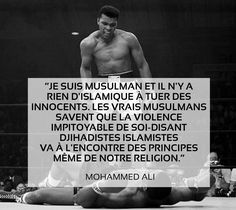 Les 5 plus belles citations de Mohamed Ali