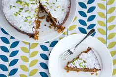 Sabrina Ghayour's Gluten-Free Carrot, Pistachio & Coconut Cake