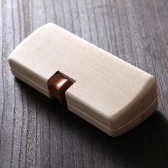 Y.crafts/木のメガネケース MOKU 8900yen スタイリッシュでありながら温もりあるメガネケース