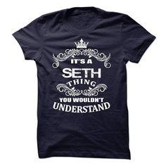 Its A Seth T-Shirt - #shirt skirt #tee trinken. GET IT => https://www.sunfrog.com/LifeStyle/Its-A-Seth-T-Shirt.html?68278