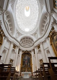 san carlo alle quattro fontane interior - Google Search