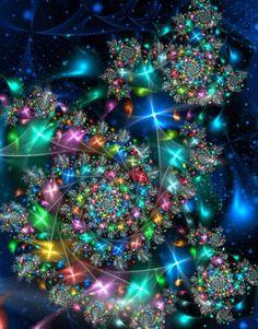 Fractals - aurora fractalis - By Unknown