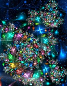 Fractals - aurora fractalis - By Unknown