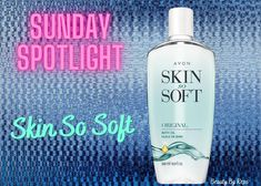 Do you know who just had a birthday? You guessed right, Avon's Skin So Soft! Its fresh herbal scent is made to both awaken and relax your senses. Ahh... sounds blissful! ❤️ ❤️ #skinsosoft #avon #beauty #skincare #avonrep #shopavon #avonlady #notyourgrandmasavon #shopfromhome #avoidthelines #avonbubblebath Avon Skin So Soft, After Bath, Lip Plumper, Jojoba Oil, Vodka Bottle, Herbalism, Moisturizer, Skincare, Relax