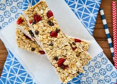 Homemade Granola Bars For Back To School