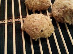 Raw Lemon Lavender Coconut Bites - gluten, soy, dairy, grain, egg, nut free!