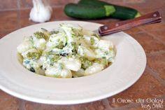 Giovedì Gnocchi Zucchine e Pesto - Ricette Blogger Riunite