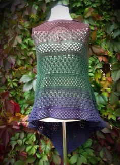 Haltija Poncho crochet