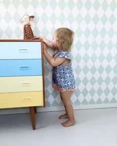 Harlequin Wallpaper, Kidsroom, Modern Room, Our Kids, Troy, Kids Bedroom, Baby Room, Home Furniture, Twins
